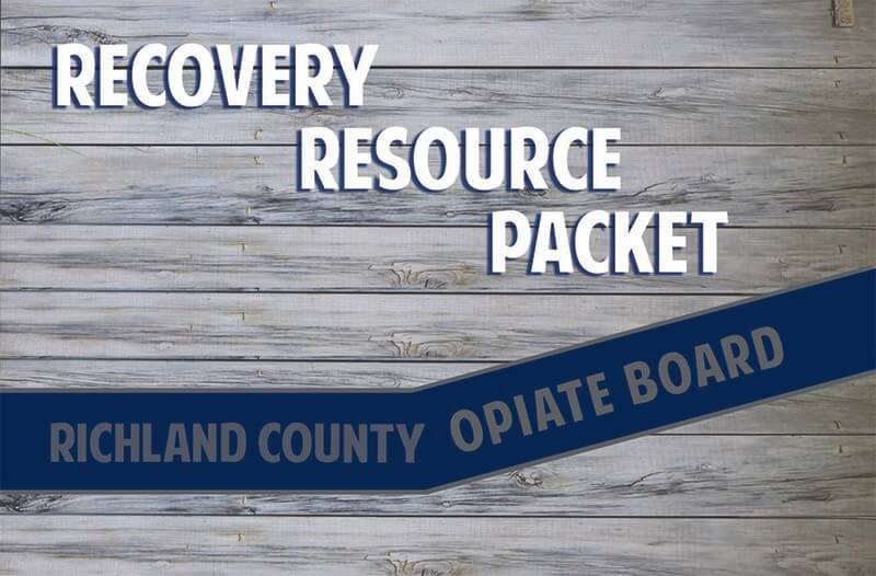 Recovery Resource Packet cover