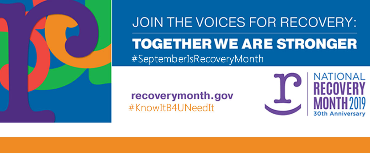 September is Recovery Month 2019